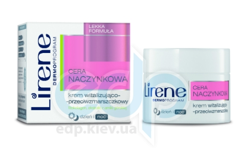 Lirene - Капиллярная Кожа Легкий крем против морщин для лица, день / ночь - 50 ml