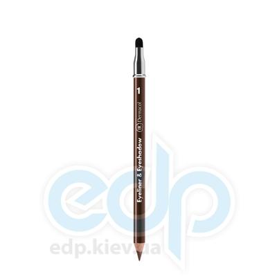 Dermacol Карандаш для глаз автоматический Matic Eyeliner № 02 (коричневый) - 0.28 gr (4446)