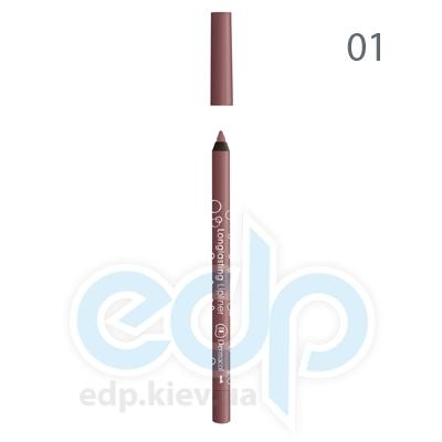 Dermacol Карандаш для губ устойчивый Longlasting Lipliner № 01 - 1.4 gr (2499)