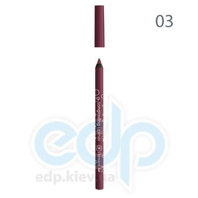 Dermacol Карандаш для губ устойчивый Longlasting Lipliner № 03 - 1.4 gr (2501)