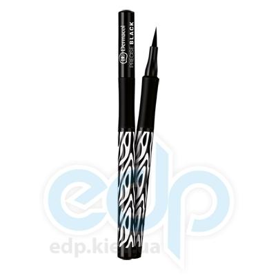 Dermacol Black Sensation Фломастер для глаз водостойкий Precise black (черный) - 1 ml  (5386)