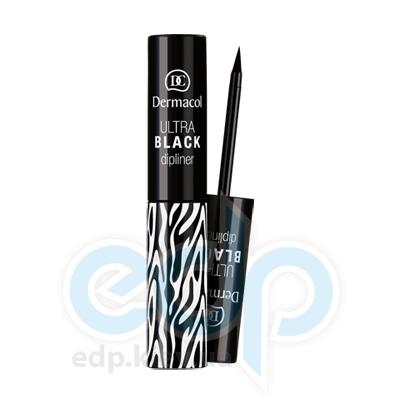 Dermacol Black Sensation Подводка для глаз жидкая Ultra black dipliner (черный) - 2.8 ml  (5390)