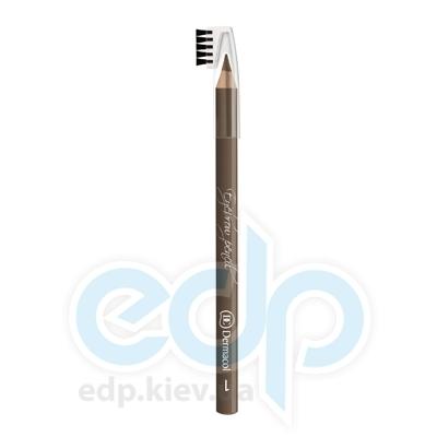 Dermacol Карандаш для бровей со щеточкой Eyebrow pencil № 01 - 1.6 gr (5514)
