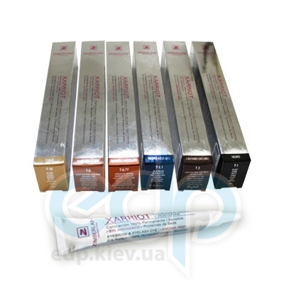 Zimberland - Color Xarriot Краска для ресниц и бровей с протеинами шелка без аммиака T-1 (черный) - 15 ml (3908)