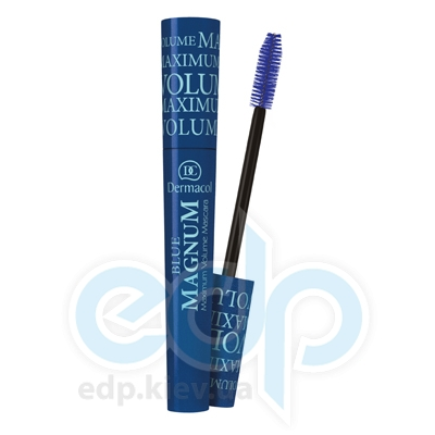 Dermacol Тушь для ресниц Magnum Blue Максимальное увеличение объема (небесно-голубой) - 7 ml (1737)