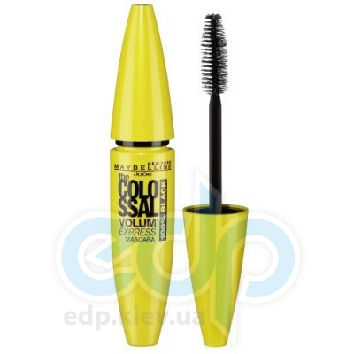 Тушь для ресниц Maybelline -  The Colossal Volum Express 100% Black - 10.7 ml
