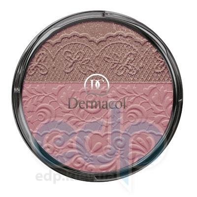 Dermacol Румяна компактные 2-цветные № 01 Duo Blusher - 8.5 gr (4260)