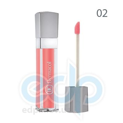 Dermacol Блеск для губ бриллиантовый Lip Gloss № 02 - 6 ml (6717)