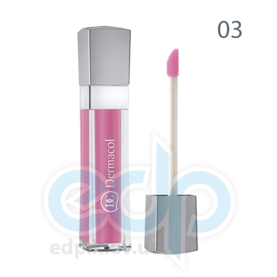 Dermacol Блеск для губ бриллиантовый Lip Gloss № 03 - 6 ml (6718)