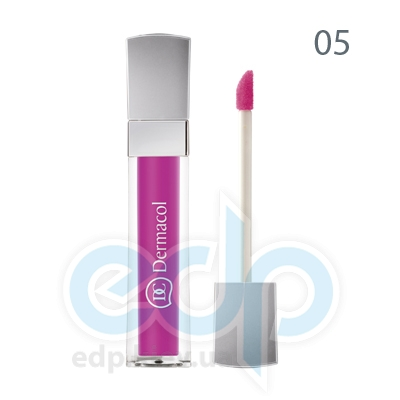Dermacol Блеск для губ бриллиантовый Lip Gloss № 05 - 6 ml (6722)