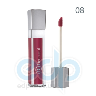 Dermacol Блеск для губ бриллиантовый Lip Gloss № 08 - 6 ml (2313)