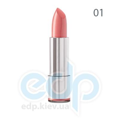 Dermacol Губная помада стойкая Кремовая Long-lasting Lipstick № 01 - 4.3 gr (6660)