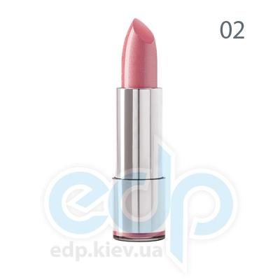 Dermacol Губная помада стойкая Кремовая Long-lasting Lipstick № 02 - 4.3 gr (6661)