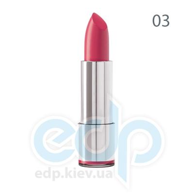 Dermacol Губная помада стойкая Кремовая Long-lasting Lipstick № 03 - 4.38 gr (1755)