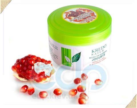 Dzintars (Дзинтарс) - Питательная маска-йогурт для любого типа волос с ароматом граната Kredo Natur - 250 ml (37036dz)