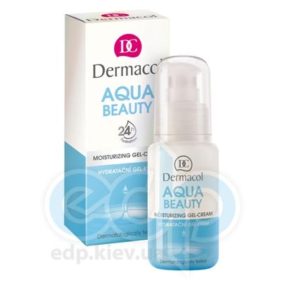 Dermacol Aqua Beauty Гель-крем увлажняющий для дневного и ночного ухода для всех типов кожи - 50 ml (17122)
