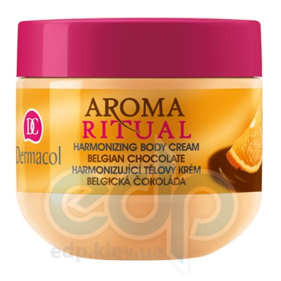 Dermacol Body Aroma Ritual Крем для тела гармонизирующий Бельгийский шоколад Harmonizing Body Cream - 300 ml (10780)