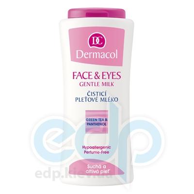 Dermacol Молочко очищающее для сухой и чувствительной кожи Face&Eyes Gentle Milk - 200 ml (16277)