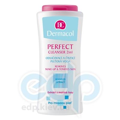 Dermacol Perfect Cleanser лосьон-Тоник 2в1 для очистки и снятия макияжа для молодой кожи - 200 ml (16696)