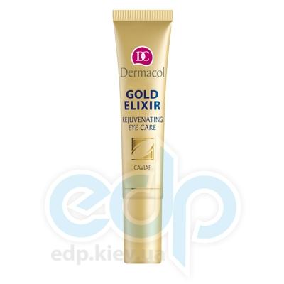 Dermacol крем для век омолаживающий с экстрактом икры Gold Elixir Rejuvenating Caviar Eye Care - 15 ml (15647)