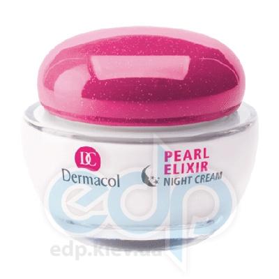 Dermacol Pearl Elixir крем ночной разглаживая для сияющей кожи с экстрактом жемчуга Multi-Active Lifting - 50 ml (15424)