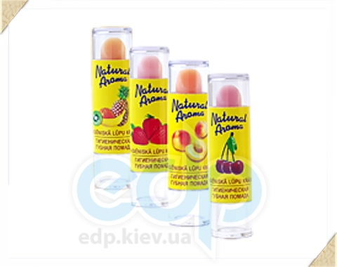 Dzintars (Дзинтарс) - Гигиеническая губная помада Natural Aroma (тропические фрукты) - 1 шт. (51041dz)