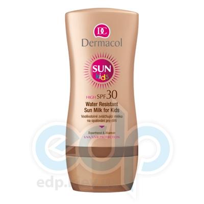 Dermacol Sun Milk Молочко для загара для детей SPF 30 водостойкое смягчающее - 200 ml (5372)