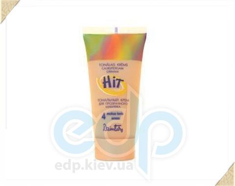 Dzintars (Дзинтарс) - Тональный крем для прозрачного макияжа HIT, мокко тон N4 HIT - 30 ml (57190dz)