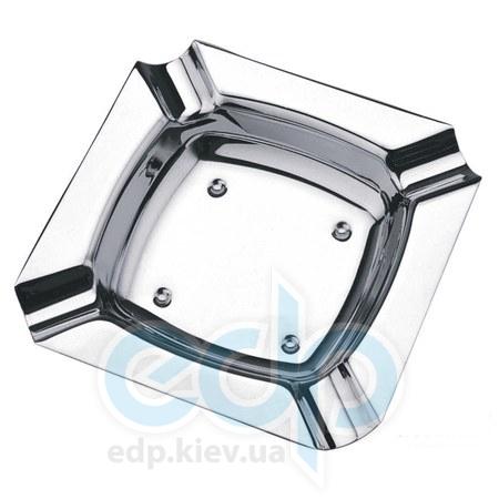 Vinzer (посуда) Vinzer -  Пепельница - нержавеющая сталь, 11,5см х 11,5см (арт. 69235)