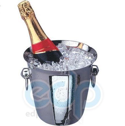 Vinzer (посуда) Vinzer -  Ведро для охлаждения шампанского - нержавеющая сталь (арт. 69252)