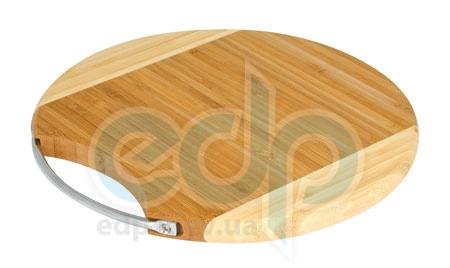 Vinzer (посуда) Vinzer -  Бамбуковая разделочная доска, диаметр 30x1,5 (арт. 69904)