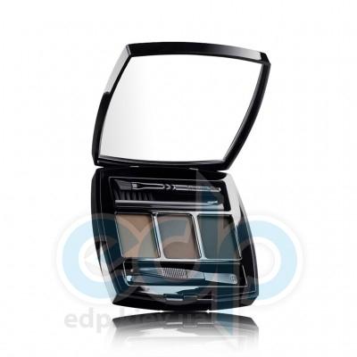 Chanel - Тени для бровей 3-х цветные, компактные Le Sourcil De Chanel 20 брюнет - 5 gr