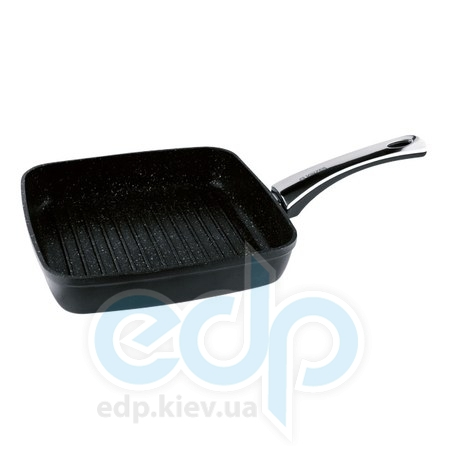 Vinzer (посуда) Vinzer -  Сковорода -гриль с керамическим покрытием  Granite Induction Line - 26х26 см.  (арт. 89438)
