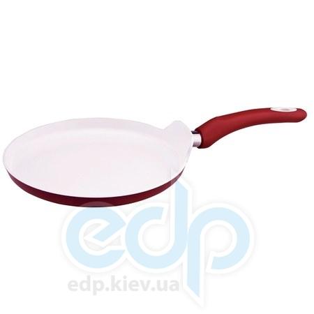 Vinzer (посуда) Vinzer -  Сковорода для блинов Eco Ceramic Induction line - диаметр 25 см (арт. 89466)