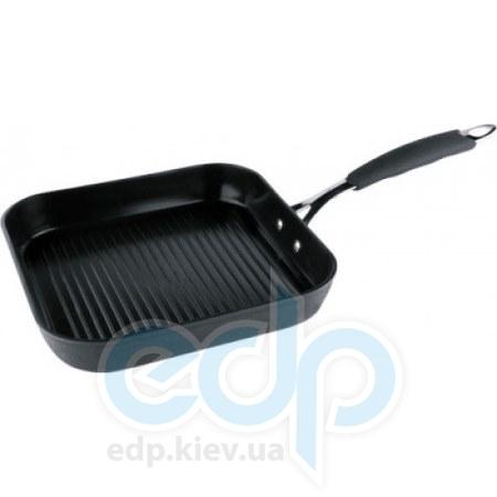 Vinzer (посуда) Vinzer -  Сковорода - гриль с керамическим покрытием Eco Style  -  26х26 см (арт. 89477)