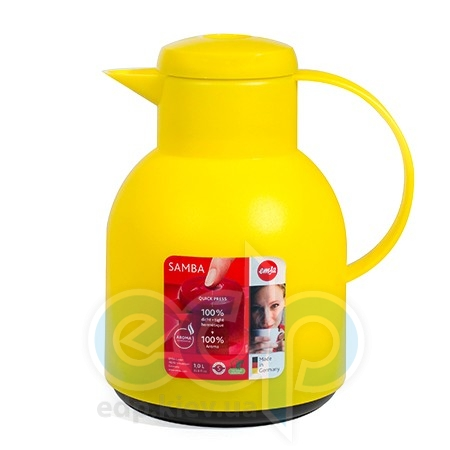 Emsa - Чайник-термос Samba объем 1 л желтый (арт. 508950)
