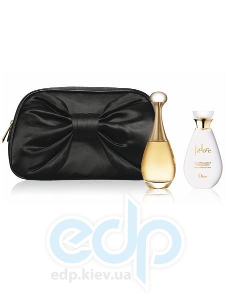 Christian Dior Jadore -  Набор (парфюмированная вода 30 + лосьон-молочко для тела 50 + косметичка)
