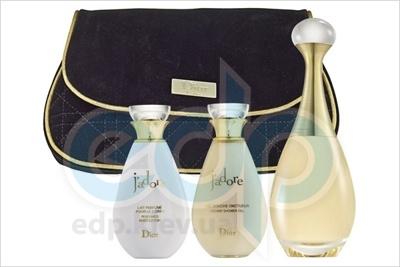 Christian Dior Jadore -  Набор (парфюмированная вода 50 + лосьон-молочко для тела 50 + гель для душа 50 + косметичка)