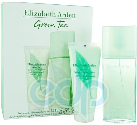 Elizabeth Arden Green Tea -  Набор (парфюмированная вода 50 + лосьон-молочко для тела 50)