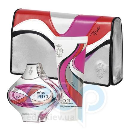 Emilio Pucci Miss Pucci -  Набор (парфюмированная вода 50 + лосьон-молочко для тела 75 + косметичка)