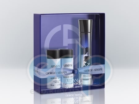 Giorgio Armani Armani Code Eau de Parfum -  Набор (парфюмированная вода 30 + лосьон-молочко для тела 75 + гель для душа 75)