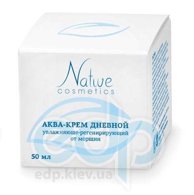 Native Cosmetics - Аква-крем дневной увлажняюще-регенерирующий от морщин - 50 ml