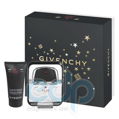 Givenchy Play -  Набор (туалетная вода 50 + гель для душа 50)