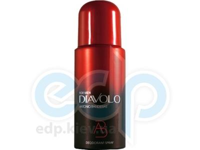 Antonio Banderas Diavolo Men -  дезодорант - 150 ml