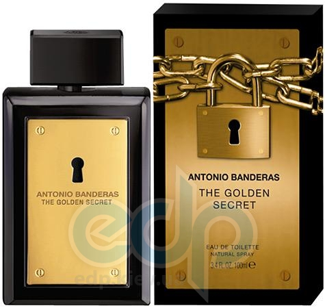 Antonio Banderas The Golden Secret - туалетная вода - 100 ml