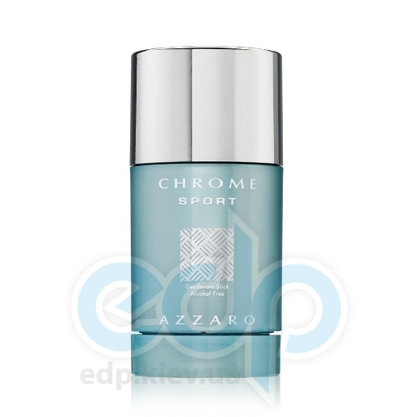 Azzaro Chrome Sport -  дезодорант стик - 75 ml
