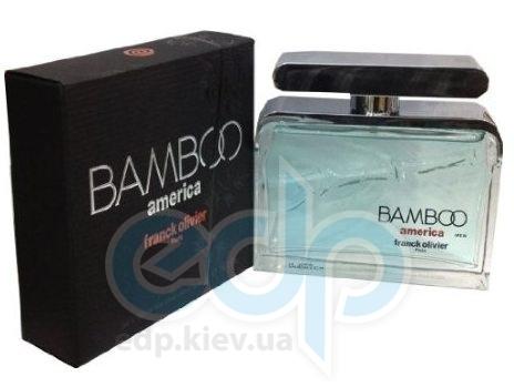 Franck Olivier Bamboo America - парфюмированная вода - 50ml TESTER