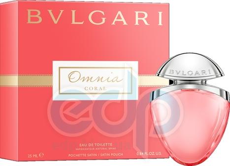 Bvlgari Omnia Coral - туалетная вода - 25 ml