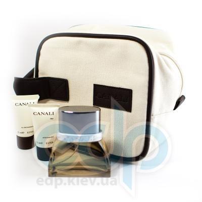 Canali Men -  Набор (туалетная вода 50 + гель для душа 15 + бальзам после бритья 15 + сумка)