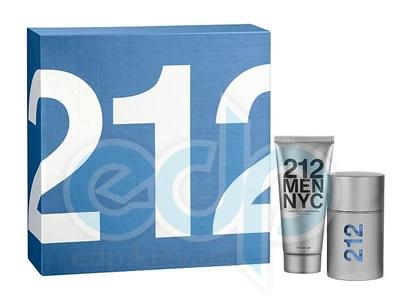 Carolina Herrera 212 For Man -  Набор (туалетная вода 100 + гель для душа 150)